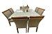 Conjunto de mesa Lívia 1,35 X 1,35 c/ 08 cadeiras - Imagem 4
