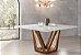 Mesa de jantar sd03- tram bru quadrada ( moderna e elegante) - Imagem 2