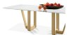 Mesa de jantar sd03 - lib bru retangular ( luxuosa) - Imagem 2