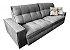 Sofá Retrátil e Articulado 2,70 mts Lush - Imagem 1