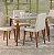 Cjt mesa sd03- lv + 4 cadeira lv prv - Imagem 1