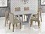 Mesa de Jantar com 6 cadeiras Laca Off White - Imagem 1