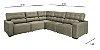 Sofá sd02-topázio selv canto 3,10 x 3,10 mts retratil e articulado - Imagem 1