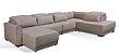 Sofa sd02 mo-fmrt modelo brg com chaise 3,70x 2,30 mts + carregador usb - Imagem 2