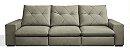 Sofá Retrátil e Articulado Mega Conforto molas ensacadas com 3 Módulos - Imagem 5