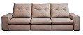Sofá Retrátil e Articulado Mega Conforto molas ensacadas com 3 Módulos - Imagem 1