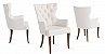 Cadeira sd04- atis c/ braço e botone jho ( unid) - Imagem 1