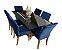 Mesa de jantar com 6 Cadeiras Mayara - Imagem 2