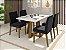 Conjunto de jantar sd03 com 4 cadeiras - Imagem 1