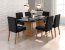 Cjt mesa de jantar sd03- ayla nll c/ 6 cadeira - Imagem 2
