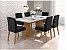 Cjt mesa de jantar sd03- ayla nll c/ 6 cadeira - Imagem 1