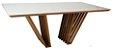 Mesa de jantar Capri com Vidro - Imagem 1