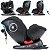 Cadeirinha Para Carro Chicco Seat4Fix 360º 0 a 36Kg Black Preta - Imagem 3