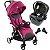 Carrinho de Bebe Bebe Conforto Base Chicco Goody Plus Pink - Imagem 1