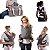 Canguru para Bebe Chicco Boppy ComfyFit Grey Cinza 0m+ - Imagem 3