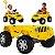 Carrinho de Passeio e Pedal Bandeirante Banjipe Amarelo - Imagem 4