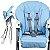 Cadeirinha de Alimentação Burigotto Pappa & Soneca Baby Blue - Imagem 4