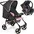 Carrinho de Bebe e Bebe Conforto Galzerano Romano Onyx Rosa - Imagem 1