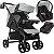 Carrinho de Bebe Tutti Baby Nivo com Bebe Conforto Base Preto - Imagem 1