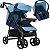 Carrinho de Bebe Tutti Baby Nivo Azul com Bebe Conforto - Imagem 1