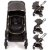 Carrinho Bebe Conforto Base Safety1st Discover Black Chrome - Imagem 2