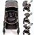 Carrinho Bebe Conforto Base Safety1st Discover Grey Chrome - Imagem 2