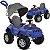 Carrinho Passeio Pedal Bandeirante Superjipe com Capota Azul - Imagem 1