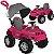 Carrinho Passeio Pedal Bandeirante Superjipe com Capota Pink - Imagem 1
