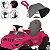 Carrinho Passeio Pedal Bandeirante Superjipe com Capota Pink - Imagem 4
