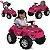Carrinho Passeio Pedal Bandeirante Superjipe com Capota Pink - Imagem 3