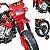 Moto Eletrica Infantil Xplast Motocross 6V Vermelha - Imagem 4
