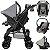 Carrinho de Bebe com Bebe Conforto Tutti Baby Upper Preto - Imagem 3
