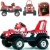 Jeep Pick-Up Eletrico Nevada 6v Red Peg-Pérego - Imagem 3