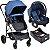 Carrinho de Bebe Burigotto Convert Bebe Conforto Touring X e Base Blue - Imagem 1