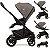 Carrinho de Bebe com Bebe Conforto e Moises Joie Chrome Foggy Grey Cinza - Imagem 3