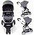 Carrinho de Bebe Bebe Conforto e Base Infanti Sky Grey Classic Cinza - Imagem 3