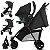 Carrinho de Bebe Bebe Conforto e Base CBX Woya Cinza Comfy Grey - Imagem 2