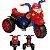 Moto Eletrica Infantil Biemme GP Raptor Spider Vermelha 6V - Imagem 1