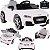 Carro Eletrico Belfix Audi TT RS 12V Controle Remoto Branco - Imagem 1