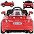 Carro Eletrico Belfix Audi TT RS 12V Controle Remoto Vermelho - Imagem 2