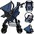 Carrinho Passeio Bebe Conforto Base Tutti Baby Upper Azul  - Imagem 3