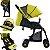 Carrinho de Bebe Passeio Kangalup Easy F1 Amarelo - Imagem 4