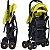 Carrinho de Bebe Passeio Kangalup Easy F1 Amarelo - Imagem 3