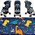 Carrinho de Bebe Passeio Chicco Ohlala 2 Dino Derby Azul - Imagem 4