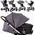 Carrinho Moises ABC Design Merano Bebe Conforto Bag Asphalt - Imagem 3