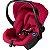 Carrinho Bebe Conforto Base CBX Etu Crunchy Red Vermelho - Imagem 4