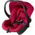 Carrinho de Bebe com Bebe Conforto CBX Etu Red Vermelho - Imagem 4