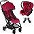 Carrinho de Bebe com Bebe Conforto CBX Etu Red Vermelho - Imagem 1