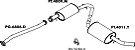 Silencioso Peugeot Boxer Traseiro - Imagem 1