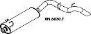 Silencioso Master 2.8 Diesel 2002 A 2004 Traseiro - Imagem 1